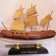 Coleccionismo: HMS BEAGLE - REPLICA BARCO - PROTOTIPO ORIGINAL COLECCION BARCOS DE LA HISTORIA. Lote 82099032