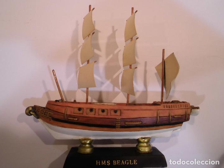 HMS BEAGLE - REPLICA BARCO - PROTOTIPO ORIGINAL COLECCION BARCOS DE LA HISTORIA - (Coleccionismo - Varios)