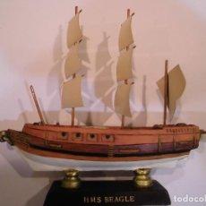 Coleccionismo: HMS BEAGLE - REPLICA BARCO - PROTOTIPO ORIGINAL COLECCION BARCOS DE LA HISTORIA - . Lote 82099392