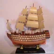 Coleccionismo: HMS VICTORY - REPLICA BARCO - PROTOTIPO ORIGINAL COLECCION BARCOS DE LA HISTORIA - . Lote 82099704