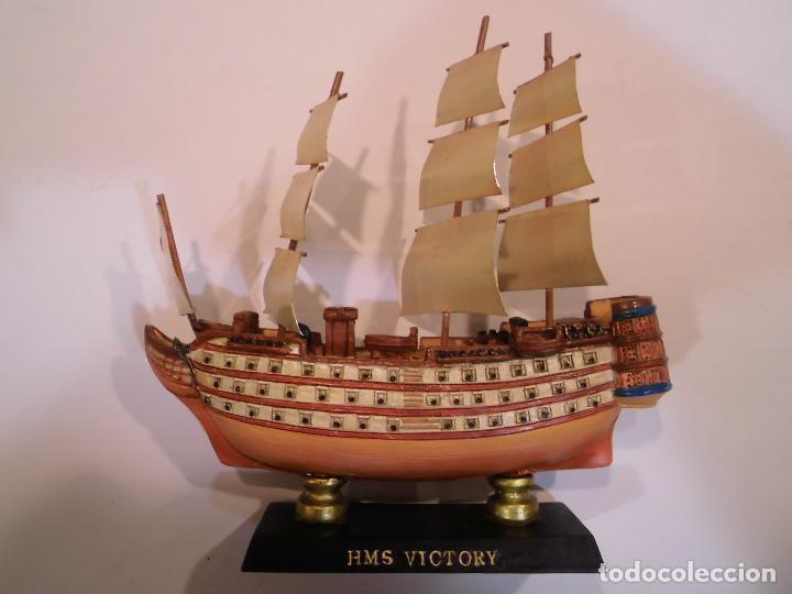HMS VICTORY - REPLICA BARCO - PROTOTIPO ORIGINAL COLECCION BARCOS DE LA HISTORIA (Coleccionismo - Varios)