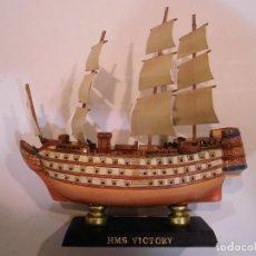 Coleccionismo: HMS VICTORY - REPLICA BARCO - PROTOTIPO ORIGINAL COLECCION BARCOS DE LA HISTORIA . Lote 82099896