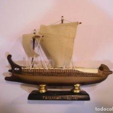 Coleccionismo: HMS BEAGLE - REPLICA BARCO - VELAS EN TELA - PROTOTIPO ORIGINAL COLECCION BARCOS HISTORIA . Lote 82101448