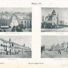 Coleccionismo: LAMINA ESPASA 11554: VISTAS DE MEXICO. Lote 82102655