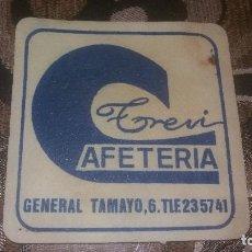 Coleccionismo: POSAVASO ANTIGUO DE COLECCIÓN BAR RESTAURANTE CAFETERÍA POSAVASOS ALMERIA PUP. Lote 82231028