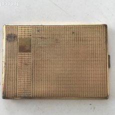 Coleccionismo: PITILLERA BAÑADA EN ORO 1930'S. . Lote 90405574