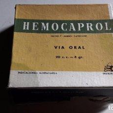 Coleccionismo: FARMACIA..MEDICAMENTO..HEMOCRAPOL.. Lote 82287516