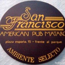 Coleccionismo: POSAVASOS SAN FRANCISCO. Lote 82320196