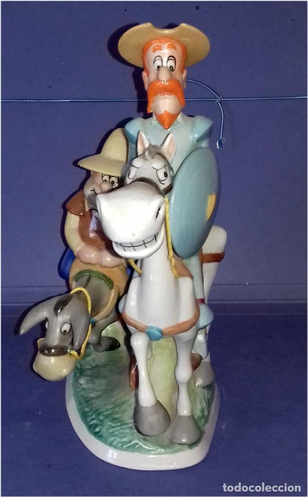 Coleccionismo: GRAN FIGURA DE PORCELANA - SERIE DE DIBUJOS ANIMADOS - DON QUIJOTE DE LA MANCHA (1979) - SUREDA - Foto 4 - 82934228
