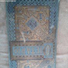 Coleccionismo: DIETARIO PARA EL AÑO 1890 CON ANOTACIONES PERSONALES, PEONADAS, VENDIMIA...VER FOTOS. Lote 82959140
