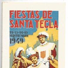 Coleccionismo: TARRAGONA .- PROGRAMA DE FIESTAS DE SANTA TECLA 1949. Lote 83020508