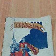 Coleccionismo: PROGRAMA DE LAS FIESTAS DE LA PRIMAVERA, LA RODA 1947. ALBACETE. VER FOTOS. Lote 85052760