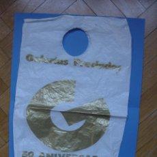 Coleccionismo: ANTIGUA BOLSA DE PLÁSTICO: GALERÍAS PRECIADOS (50 ANIVERSARIO, 1993) ORIGINAL ¡COLECCIONISTA!. Lote 85359184