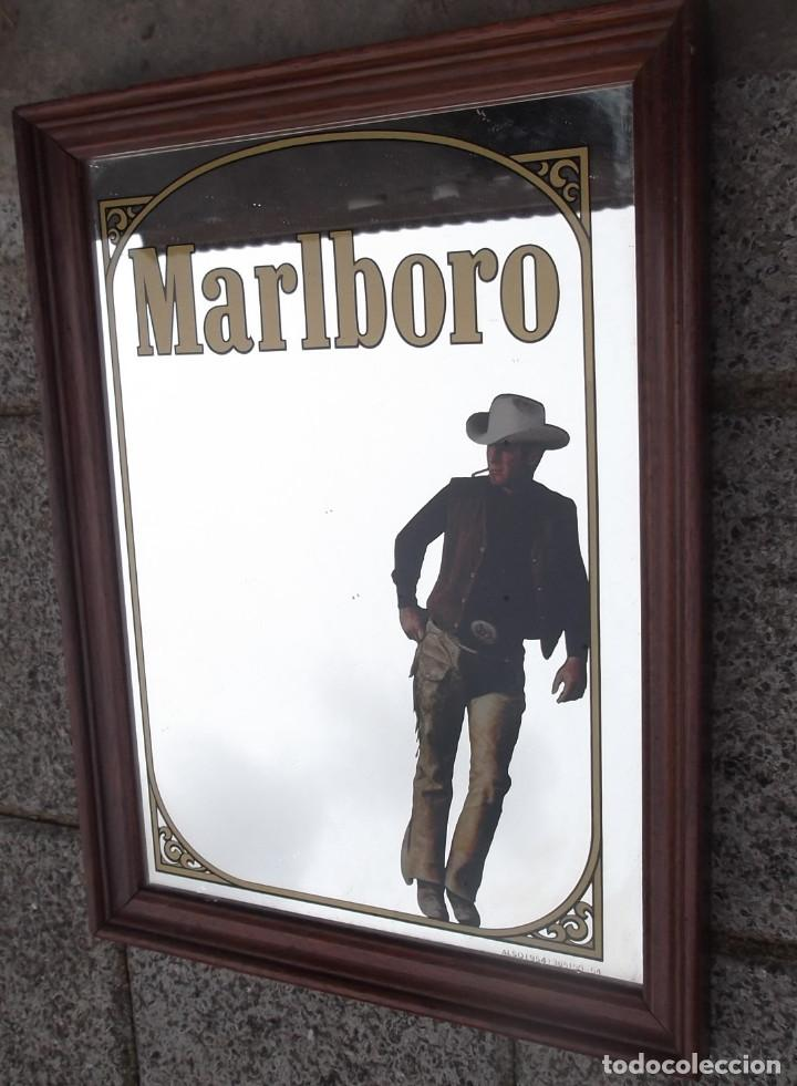 cuadro publicidad espejo reclamo original marlboro varios