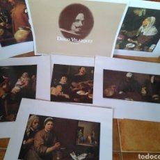 Coleccionismo: 6 LÁMINAS DIEGO VELÁZQUEZ EDITADAS POR GRUPO CRUZCAMPO HOMENAJE IV CENTENARIO DE SU NACIMIENTO. Lote 85446614