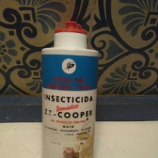 Coleccionismo: BOTE ANTIGUO DE INSECTICIDA ZELTIA ZZ COOPER, INGLATERRA RARO. Lote 85861834