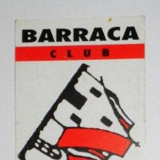 Coleccionismo: FLYER INVITACIÓN ORIGINAL DISCOTECA BARRACA OCTUBRE 1993 RUTA BAKALAO RUTA DESTROY. Lote 85905004
