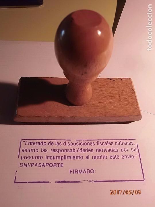 CORREOS - SELLO DE CAUCHO - OFICINA DE CORREOS (Coleccionismo - Varios)