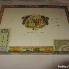 Coleccionismo: CAJA DE PUROS ROMEO Y JULIETA - ROMEO Nº1 TUBOS DE ALUMINIO - NUEVA PRECINTADA -. Lote 86213488