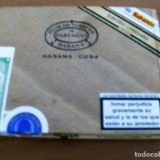 Coleccionismo: PARTAGAS , HABANA , CUBA - 10 SERIE D ESPECIAL - EDICION LIMITADA 2010 - CAJA DE MADERA - VACIA. Lote 86224020
