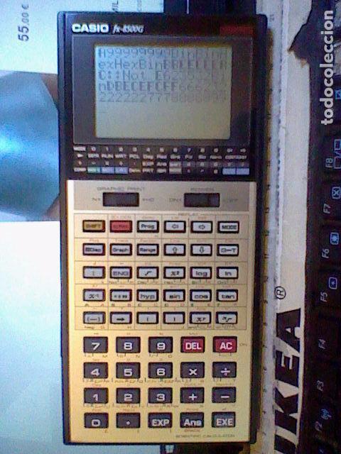 Coleccionismo: calculadora casio cientifica FX 8500G funcionando leer y fotos - Foto 2 - 105831142