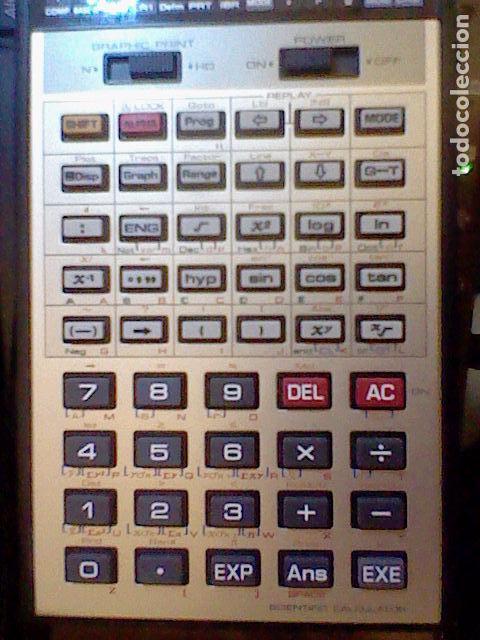 Coleccionismo: calculadora casio cientifica FX 8500G funcionando leer y fotos - Foto 3 - 105831142