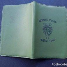 Coleccionismo: DOCUMENTO NACIONAL DE IDENTIDAD / CARTERA PLASTICO CON 2 FUNDAS EN INTERIOR. Lote 86716720
