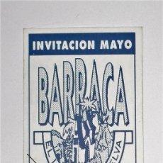 Coleccionismo: FLYER INVITACIÓN ORIGINAL DISCOTECA BARRACA MAYO 1994 EL LIBRO DE LA SELVA RUTA BAKALAO RUTA DESTROY. Lote 86868344
