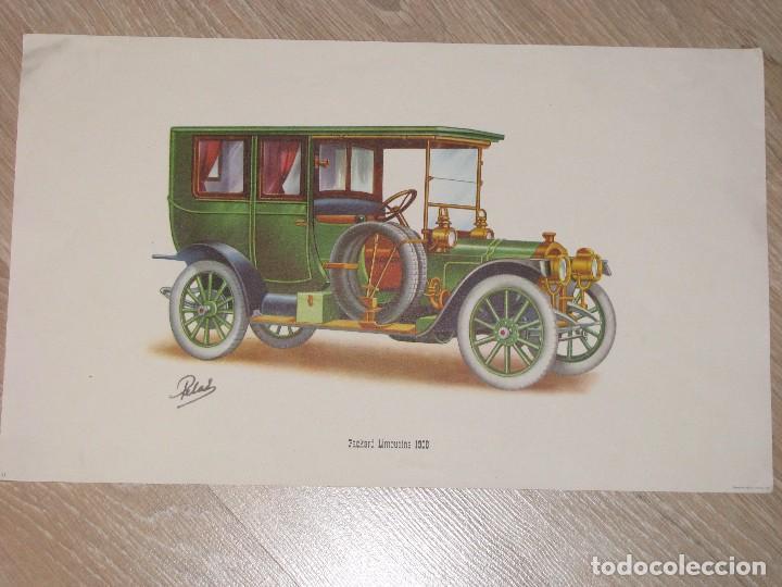 LAMINA DE COCHE ANTIGUO. PACKARD LIMOUSINE 1908. 40 X 24 CM. (Coleccionismo - Laminas, Programas y Otros Documentos)
