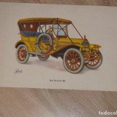Coleccionismo - LAMINA DE COCHE ANTIGUO. BUICK TOURING CAR 1910. 40 x 24 cm. - 87187460
