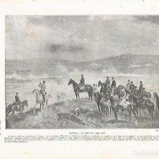 Coleccionismo: LAMINA 4226: BATALLA DE TREVIO AO 1875. Lote 59061746