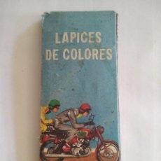 Coleccionismo: ANTIGUA CAJA LÁPICES DE COLORES CRETA POLYCOLOR CON 5 LAPICES.. Lote 87421908