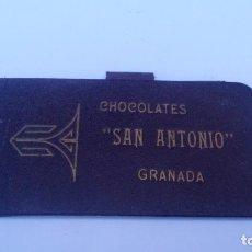 Coleccionismo: CHOCOLATES SAN ANTONIO - GRANADA - LIBRETILLA PUBLICITARIA - AÑOS 20. Lote 87628788