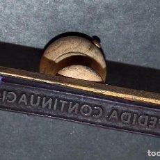 Coleccionismo: SELLO DE CAUCHO: EXPEDIDA CONTINUACIÓN. Lote 87630236