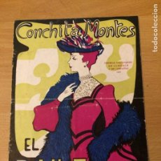 Coleccionismo: PROGRAMA DE TEATRO EL BAILE.CONCHITA MONTES EDGAR NEVILLE. Lote 88803992