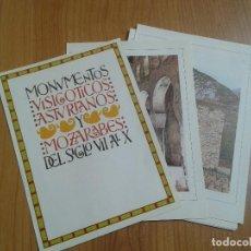 Coleccionismo: MONUMENTOS VISIGÓTICOS ASTURIANOS Y MOZÁRABES DEL S. VII AL X -- 14 LÁMINAS -- ASTURIAS, ASTURIES --. Lote 88817056