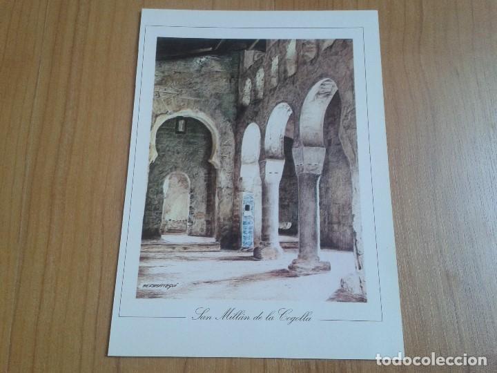 Coleccionismo: MONUMENTOS VISIGÓTICOS ASTURIANOS Y MOZÁRABES del s. VII al X -- 14 Láminas -- Asturias, Asturies -- - Foto 3 - 88817056