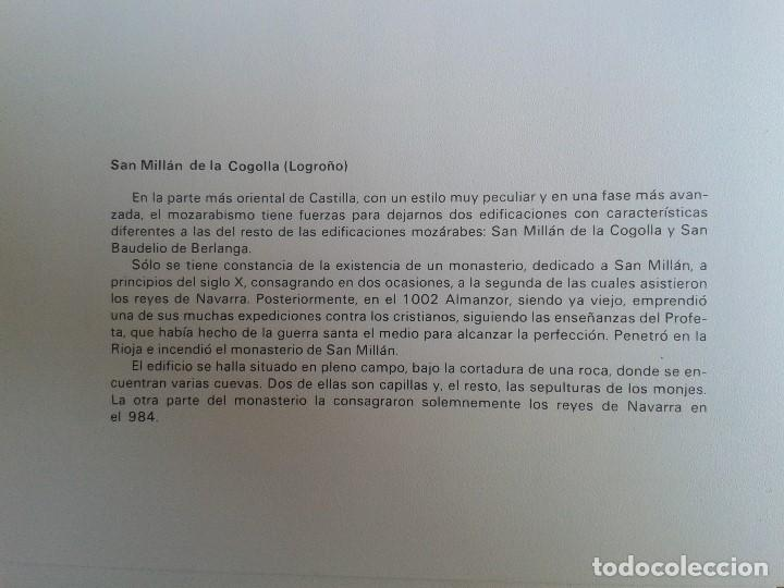 Coleccionismo: MONUMENTOS VISIGÓTICOS ASTURIANOS Y MOZÁRABES del s. VII al X -- 14 Láminas -- Asturias, Asturies -- - Foto 4 - 88817056
