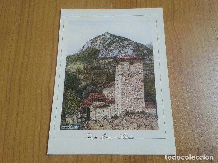 Coleccionismo: MONUMENTOS VISIGÓTICOS ASTURIANOS Y MOZÁRABES del s. VII al X -- 14 Láminas -- Asturias, Asturies -- - Foto 5 - 88817056