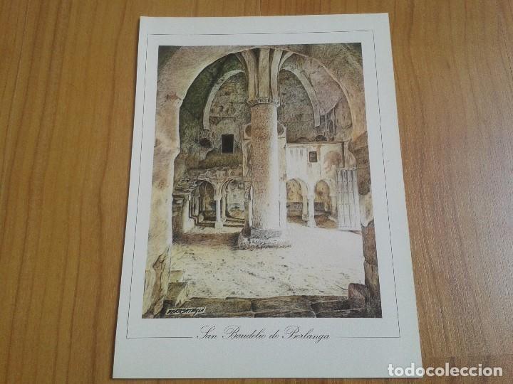 Coleccionismo: MONUMENTOS VISIGÓTICOS ASTURIANOS Y MOZÁRABES del s. VII al X -- 14 Láminas -- Asturias, Asturies -- - Foto 6 - 88817056