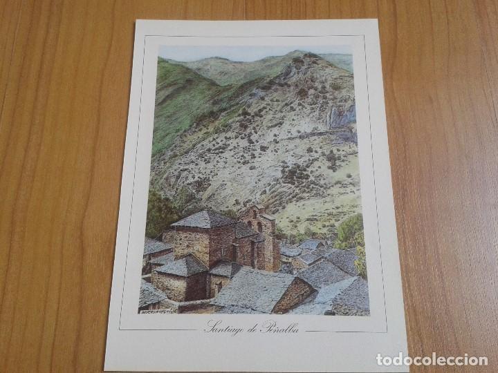 Coleccionismo: MONUMENTOS VISIGÓTICOS ASTURIANOS Y MOZÁRABES del s. VII al X -- 14 Láminas -- Asturias, Asturies -- - Foto 7 - 88817056