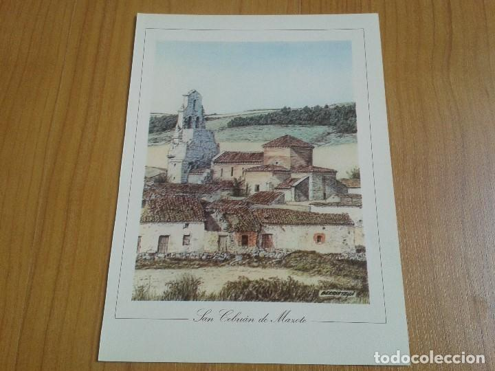 Coleccionismo: MONUMENTOS VISIGÓTICOS ASTURIANOS Y MOZÁRABES del s. VII al X -- 14 Láminas -- Asturias, Asturies -- - Foto 8 - 88817056