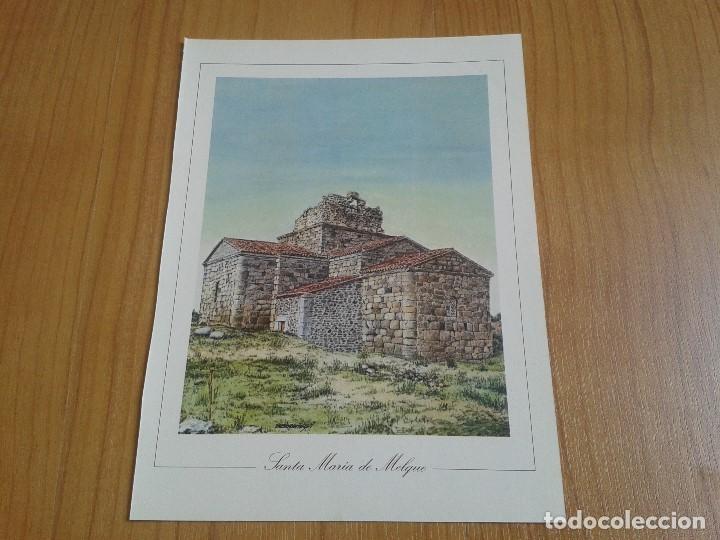 Coleccionismo: MONUMENTOS VISIGÓTICOS ASTURIANOS Y MOZÁRABES del s. VII al X -- 14 Láminas -- Asturias, Asturies -- - Foto 10 - 88817056