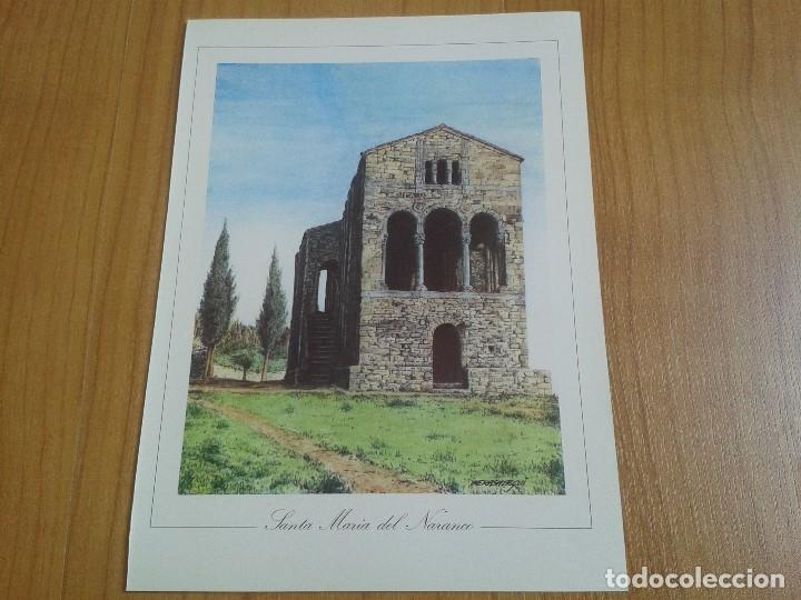 Coleccionismo: MONUMENTOS VISIGÓTICOS ASTURIANOS Y MOZÁRABES del s. VII al X -- 14 Láminas -- Asturias, Asturies -- - Foto 13 - 88817056