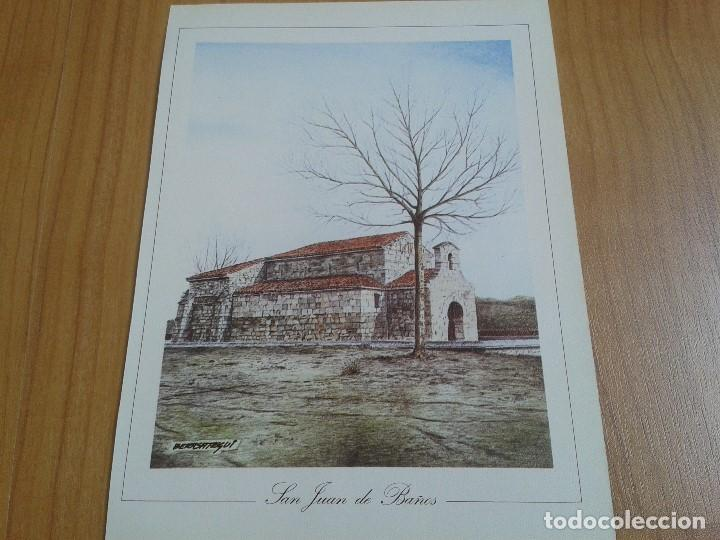 Coleccionismo: MONUMENTOS VISIGÓTICOS ASTURIANOS Y MOZÁRABES del s. VII al X -- 14 Láminas -- Asturias, Asturies -- - Foto 14 - 88817056