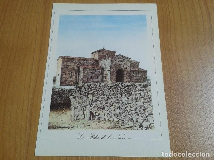 Coleccionismo: MONUMENTOS VISIGÓTICOS ASTURIANOS Y MOZÁRABES del s. VII al X -- 14 Láminas -- Asturias, Asturies -- - Foto 16 - 88817056