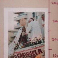 Coleccionismo: HOJA ENCICLOPEDICA TORREMOLINOS MALAGA PROCESION VIRGEN DEL CARMEN CORONACION LITURGICA. Lote 88912592
