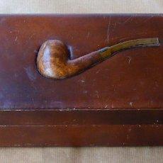 Coleccionismo: CAJA PARA GUARDAR TABACO - ENVÍO INCLUIDO. Lote 88985876