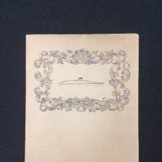 Coleccionismo: SOBRE PUBLICITARIO. -ITALIA- SOCIETA DI NAVIGAZIONE GENOVA. CON SOBRE, RECADO Y PUBLICIDAD. AÑOS 50.. Lote 89383500