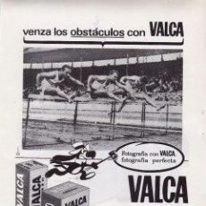 Coleccionismo: ANUNCIO PUBLICIDAD PELICULA FOTOGRAFICA VALCA-FRIGORIFICOS SIEMENS. Lote 89654796